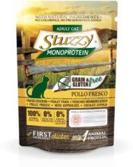 Stuzzy Cat No Grain Pouch 85 g - Kattenvoer - Kip Graan&Glutenvrij - Kattenvoer
