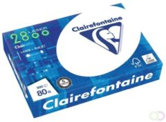 Kopieerpapier Clairefontaine laser A4 80gr wit 500vel