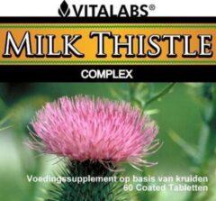 Vitalabs VitaTabs Milk Thistle Complex - 450 mg - 60 tabletten - Voedingssupplementen