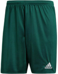 Groene Adidas Parma 16 Shorts Heren Sportbroekje - Collegiate Green/White - Maat XL
