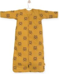 Gele Jollein Tiger Padded Babyslaapzak met afritsbare mouw - 70cm - mustard