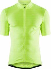 Craft Jaquard Jersey Sportshirt Heren - Snap - Maat M