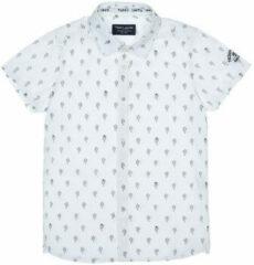 Witte Overhemd Korte Mouw Teddy Smith