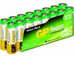 GP batterijen GP Batteries Super AA batterij (penlite) Alkaline 1.5 V 16 stuk(s)