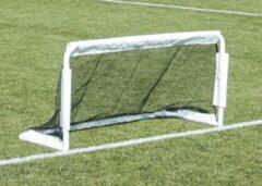 Witte Voetbaldoel Buffalo Euro Cup (150x75x60cm)