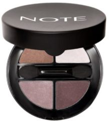 NOTE Luminous Silk Quattro Eyeshadow 01