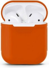 Rode Products4You Airpods Silicone Case Cover Hoesje voor Apple Airpods
