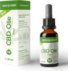 Medihemp CBD olie puur (10%) BIO 30ml