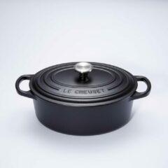 Le Creuset Signature Braadpan - 4,7 liter - 29 cm - Ovaal - Zwart
