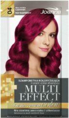 Joanna Multi Effect kleurstof shampoo 04 Frambozenrood 35g
