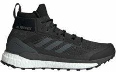 Zwarte Adidas Terrex Free Hiker - Heren synthetisch mid wandelschoenen