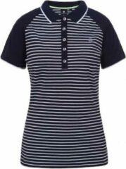 Luhta Arantila Polo Shirt Donkerblauw Donkerblauw S