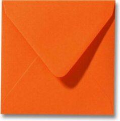 Top-Hobby 900 Enveloppen - Vierkant - Oranje - 14x14cm