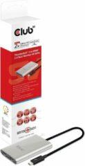 Zilveren Club 3D CLUB3D Thunderbolt 3 to Dual HDMI 2.0 Adapter
