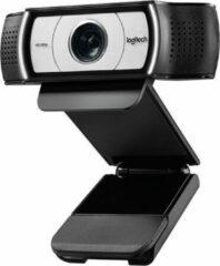 Zwarte Logitech C930C Business Webcam Full HD 1080p + zoom webcamera