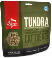 Orijen Freeze-Dried Treats Cat Tundra - Kattensnack - Geit Zwijn 35 g