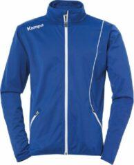 Kempa Curve Classic Trainingsjas - Maat M - Mannen - blauw/wit