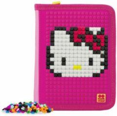 Pixie Crew Etui Met Pixels Hello Kitty 19 Cm Roze