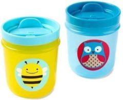 Blauwe Skip hop Tumbler cups Kleur : Uil/bij