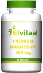 Elvitaal How2behealthy - Premium Magnesium 200mg - 90 tabletten