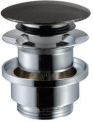 "Royal plaza Visione pop up wastafelplug 1.1/4"" staal 02"