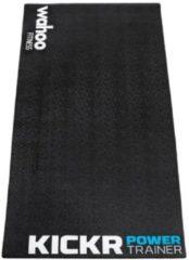 Zwarte Wahoo Fitness Wahoo KICKR Trainermat - Oprolbaar