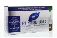 Phyto Paris Phytolium 4 haaruitval behandeling 3.5 ml 12 Ampullen