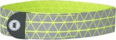 Wowow Reflectiearmband Ryu 37 Cm Polyester Geel 2 Stuks