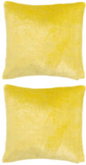 Mikronesse Folienprint Kissen-Set Glitter, 2tlg.