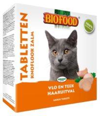 Biofood Snoepje Anti-Vlo 100 stuks - Kattensnack - Zalm - Kattenvoer