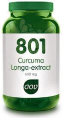 AOV 801 Curcuma Longa Extract Voedingssupplement - 60 Capsules