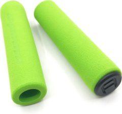 MTB Cycling MTB soft foam spons GRIP handvatten 130mm - 25g LICHTGEWICHT - Groen