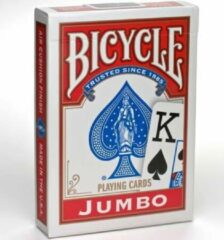 American Playing Card Company Bicycle Rider Back Jumbo