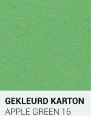 Gekleurdkarton notrakkarton Gekleurd karton apple groen 16 30,5x30,5 cm 270 gr.