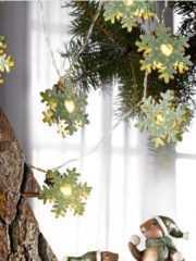 LED Lichterkette Flocken JOKA Natur