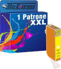 Tito-Express PlatinumSerie PlatinumSerie® 1 cartridge XL inktpatroon cli-526Y Canon PIXMA IP-4850 Canon PIXMA IX 6550, Canon PIXMA MG 5250, Canon PIXMA MG 6150, Canon PIXMA MG 8150, Canon PIXMA MG 6250, Canon PIXMA MG 8240, Canon PIXMA MG 8250, Canon PIXM