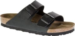 Zwarte Birkenstock Arizona Heren Slippers Regular fit - Black - Maat 49