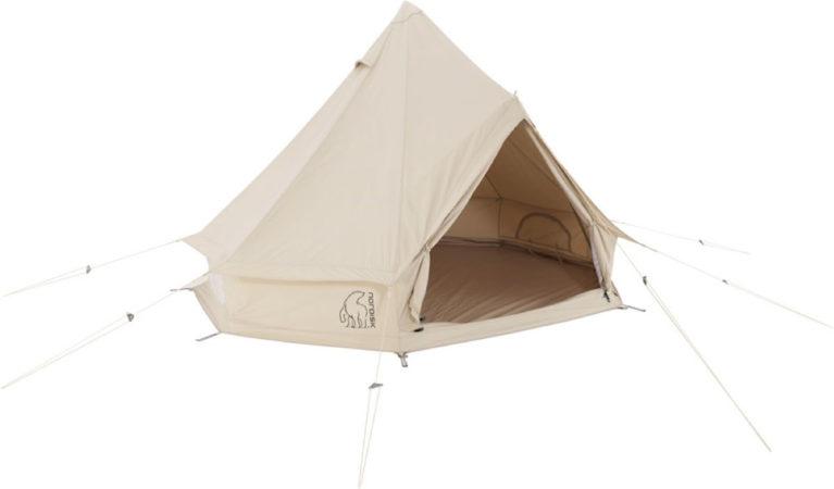 Afbeelding van Nordisk - Asgard 7.1 Technical Cotton - 3-personen-tent grijs/wit/beige