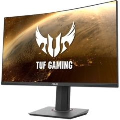 Asus VG32VQ Gaming monitor 81.3 cm (32 inch) Energielabel C (A+++ - D) 2560 x 1440 pix QHD 1 ms HDMI, DisplayPort, Hoofdtelefoon (3.5 mm jackplug) VA LED