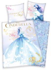 Bettwäsche 2tlg. 'Cinderella' Herding hellblau
