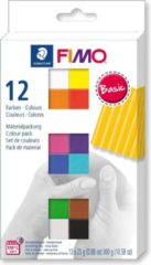 Merkloos / Sans marque Fimo soft colour pack 12 basic colours 8023 C12-1 / 12x25gr (04-19)