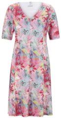 Kleid mit Blumenmuster und V-Ausschnitt Rabe CYCLAM