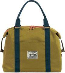 Juscha *damestas Lightpack sweetbox 36 x 27 x 13 cm geel-blauw
