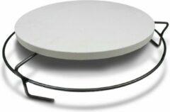 Smokeware Ring Verhoging - RVS - Roosterverhoging - Pizzasteen Verhoging - Ring Pizzasteen - Geschikt voor Bigg groen Egg Medium