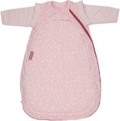 Roze Nooga 4-seizoenen slaapzak Cocono Pink Dots (medium 90cm)