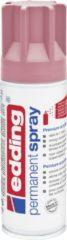 Paarse Edding 5200 permanent spray premium acrylverf classy mauve mat