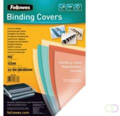 Fellowes 53764 A3 PVC Transparant 100stuk(s) binding cover