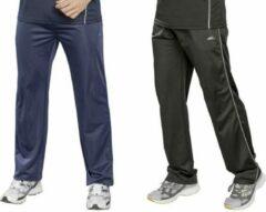 Merkloos / Sans marque Trainingsbroek heren met elastische taille marineblauw maat XXL