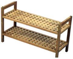 Möbel direkt online Moebel direkt online Schuhregal Massivholzregal mit 2 Ablageböden