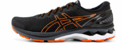 Oranje ASICS - Herenschoenen - Gel-Kayano 27 - black/marigold orange - maat 42